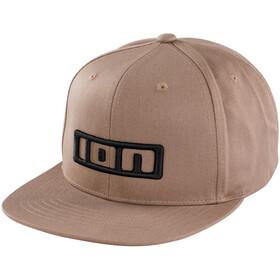 ION Berretto con logo, marrone